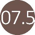 07.5 szürkés barna