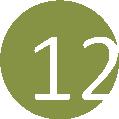 12 vízzöld