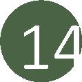 14 zöld