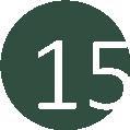 15 vadászzöld