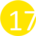 17 napsárga
