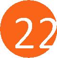 22 narancs