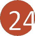 24 tégla