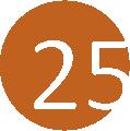 25 bronze