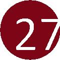 27 rózsa