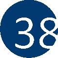 38 kék