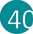 40 türkiz