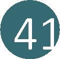 41 acélkék