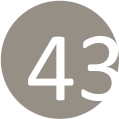 43 acélszürke
