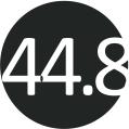 44.8 (46)