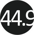 44.9 (46)
