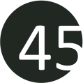 45 fekete