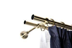 25mm-es rúd antik arany
