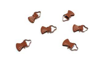 Classic kovinske sponke za leseno karniso češnja
